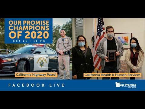 Our Promise Live: Champion Departments of 2020