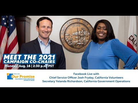Our Promise Campaign Co-Chairs Live