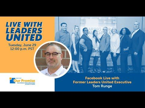 Leaders United Live with Tom Runge