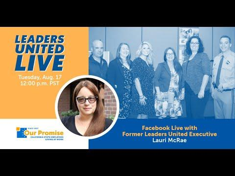 Leaders United LIVE with Lauri McRae