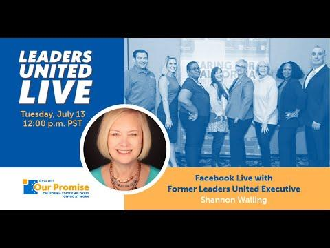 Leaders United LIVE with Shannon Walling