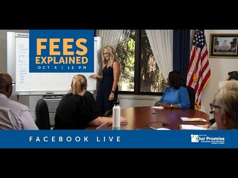 Our Promise Live: Fees Explained